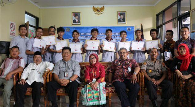 Penutupan Kegiatan MTU Teknik Pendingin Tahap II Tahun 2019 Bapas Jakarta Selatan