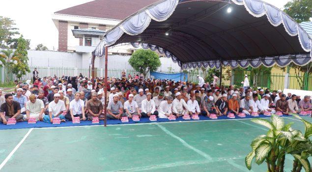 Buka Bersama Warga BinaanRutan Barabai dengan Keluarga