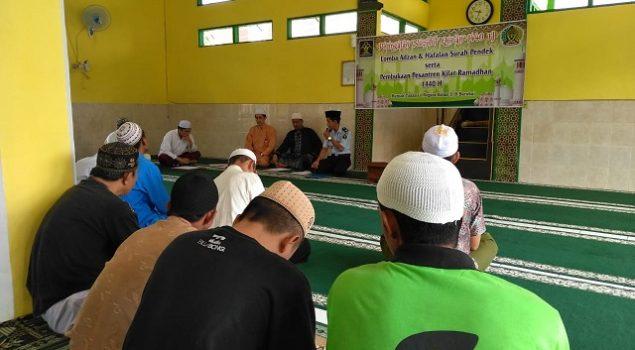 Peringati Nuzulul Quran, Rutan Barabai Gelar Lomba Azan & Hafalan Surat Pendek