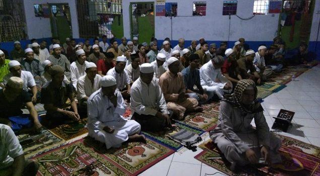 WBP Rutan Barabai Timba Amal Baik di Bulan Ramadan