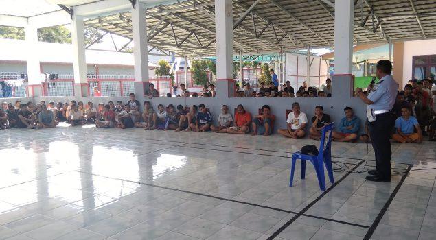 Ka.KPR Rutan Manado Berikan Arahan Kepada WBP Terkait Pelaksanaan Ibadah Puasa 1440 H