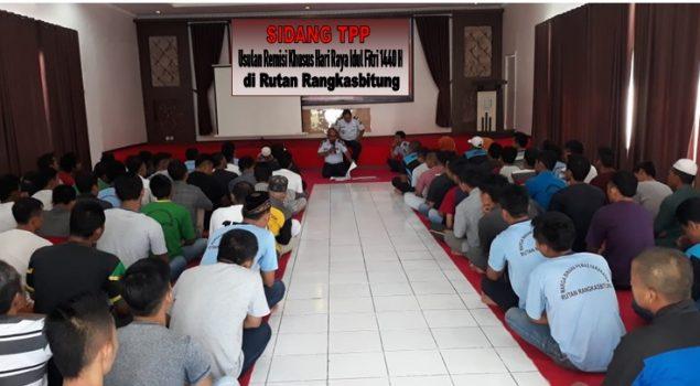 Disidang TPP, 115 WBP Rutan Rangkasbitung Diusulkan Mendapat Remisi Lebaran