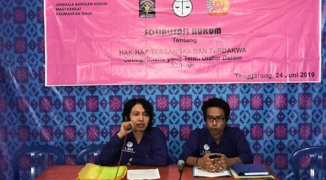 Sosialisasi Hukum Tingkatkan Kesadaran Hak & Informasi Hukum di Lapas Tenggarong