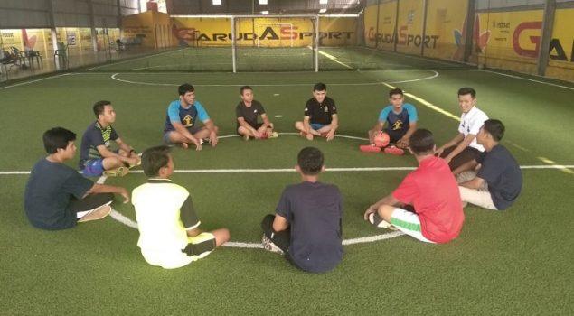 Bimbing Klien Anak, Bapas Bandar Lampung Bentuk Program Futsal