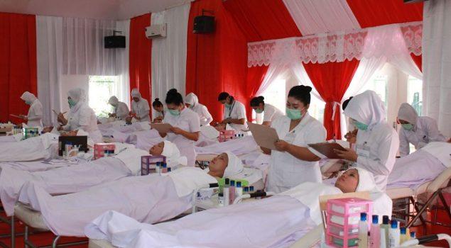 WBP LPP Tangerang Ujian Kompetensi Tata Kecantikan Kulit