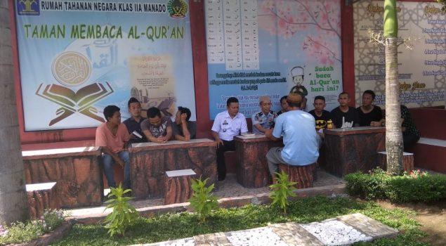 WBP Rutan Manado Uji Baca & Hafal Alquran Sebelum CB & PB