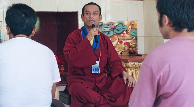 WBP Budha Rutan Cipinang Beribadah Bersama Tim Zen fo Zong