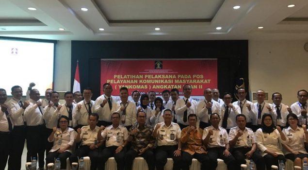 Karutan Manado Ikut Serta Pelatihan Pos Pelayanan Komunikasi Masyarakat (Yankomas)