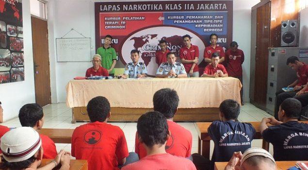 29 WBP Angkatan 35 Lulus Program Criminon LPN Jakarta