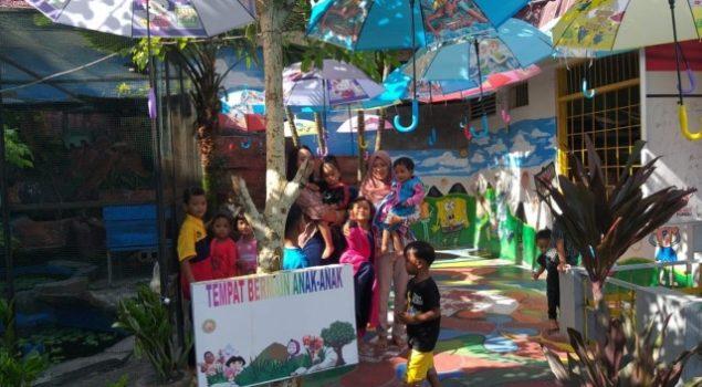 Tingkatkan Pelayanan Masyarakat Lapas Pangkalan Bun Sediakan Taman Bermain Bagi Anak