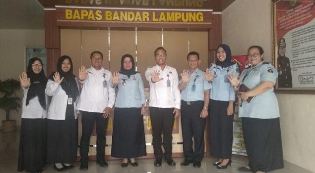 Bapas Bandar Lampung Segera Jalin MoU dengan Loka Rehabilitasi Narkoba Kalianda
