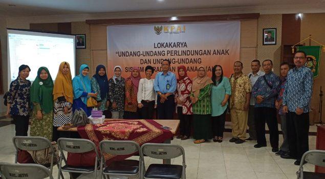 PK Bapas Yogyakarta Jadi Narasumber Forum Lokakarya UUPA & SPPA