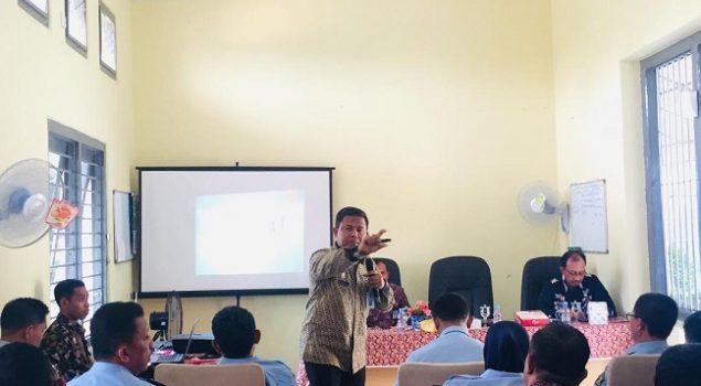 LPP Pangkalpinang Hadiri Evaluasi Satker Pembangunan Zona Integritas WBK/WBBM