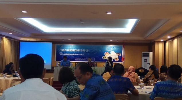 Rutan Manado Paparkan Data SDP di FGD BPS Kota Manado