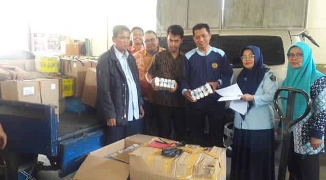 Rupbasan Bandung Simpan Puluhan Dus Berisi Garam Berbagai Merk Perkara Pelanggaran Pangan