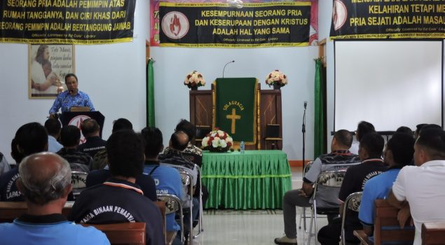 Tingkatkan Kerohanian WBP, Lapas Ambon Gandeng CMNI