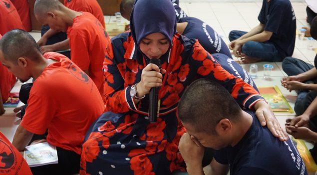 Pelatihan Motivasi Dan Hipnoterapi Kepada WBP Lapas Narkotika Jakarta