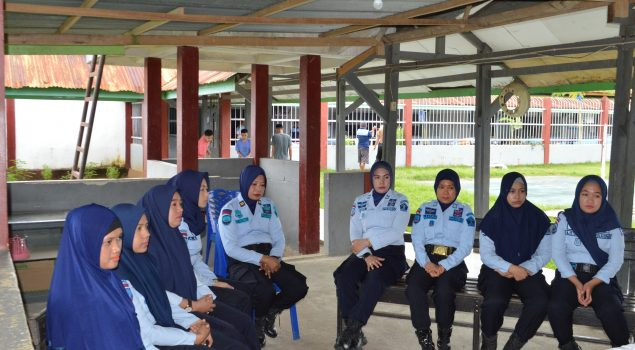 Penguatan Nilai Integritas, Kalapas Watampone Kumpulkan jajaranPengamanan Blok Wanita