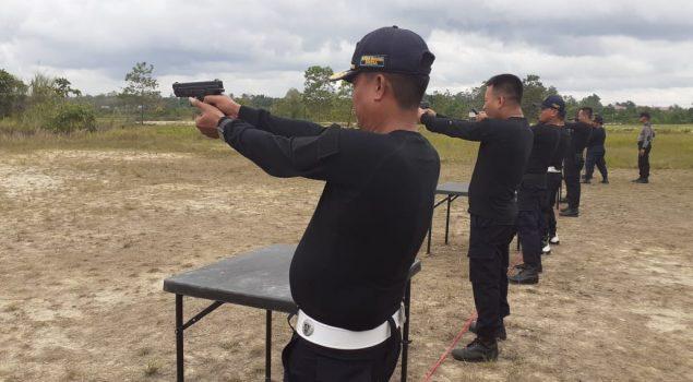 Kemenkumham Sultra Gelar Latihan Menembak, Rutan Unaaha Raih Peringkat II
