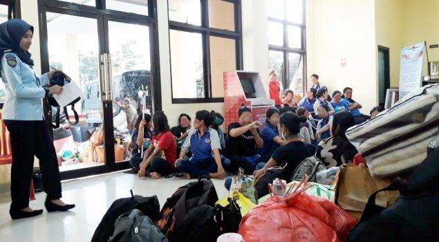 LPP Ambon Pindahkan Sementara 61 WBP ke LPKA Ambon