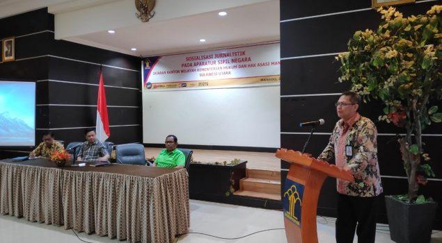 Humas Rutan Manado Belajar Jurnalistik Dari Pemred Manado Post