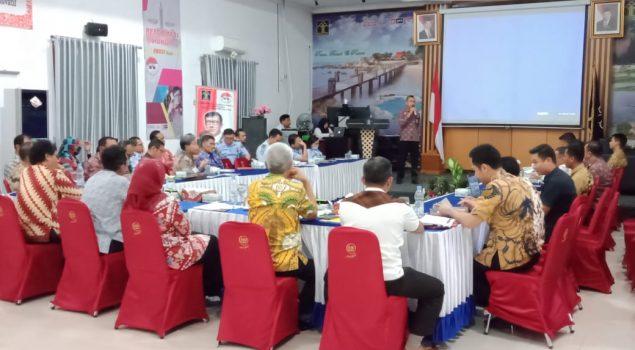 Penguatan dan Pendampingan UPT WBK oleh Plt. Kakanwil Bangka Belitung
