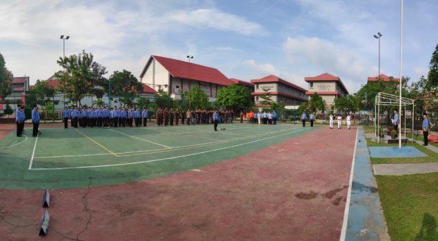 Pelaksanaan Upacara Hari Kesadaran Nasional di Lapas Batam