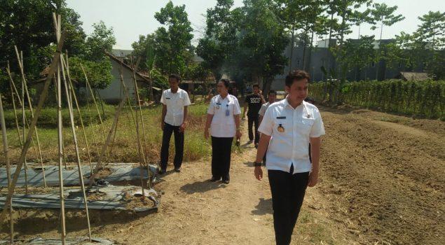 Kadivmin Soroti Pondok Asimilasi Rutan Rangkasbitung