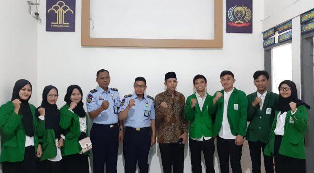 Bapas Makassar Terima Mahasiswa PPL UIN Makassar