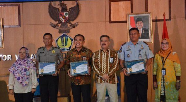 Lapas Tanjungpandan Raih Pelaksana Anggaran Terbaik IIII Semester I Tahun 2019