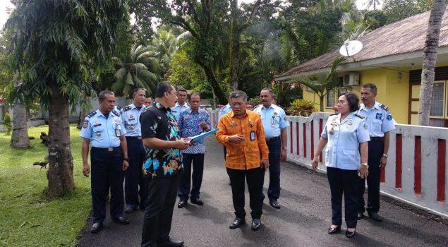 Kakanwil Kemenkumham Maluku Tinjau Kesiapan Lapas Ambon Menuju WBK/WBBM