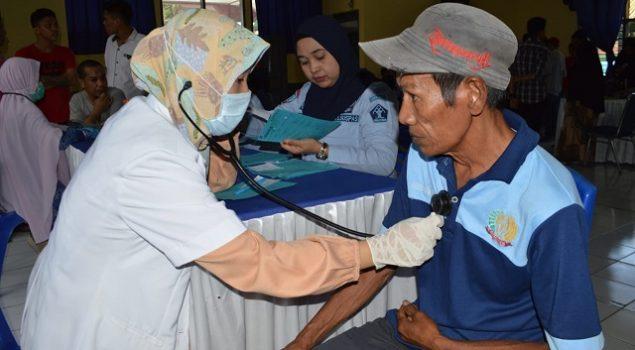 WBP Lapas Watampone Nikmati Pemeriksaan Kesehatan Gratis