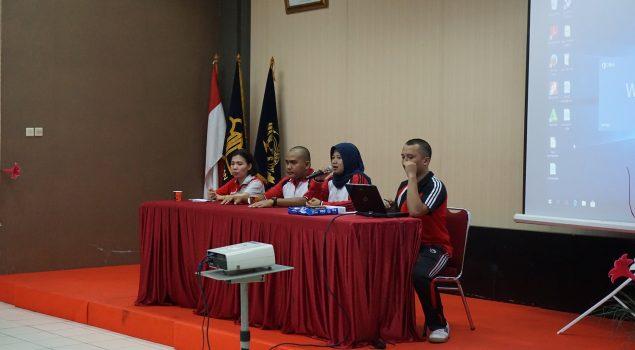 Evaluasi Kinerja PNS Muda Lapas Narkotika Jakarta