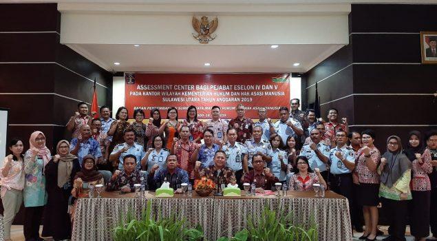 Rutan Manado Hadiri Assessment Center