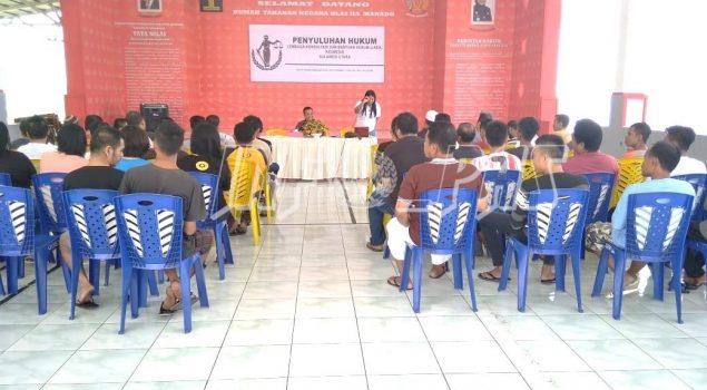 WBP Rutan Manado Nikmati Penyuluhan & Konsultasi Hukum Gratis