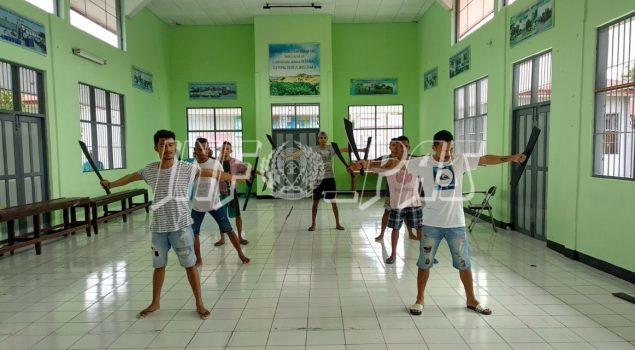 Jelang HUT RI, WBP Lapas Ambon Siapkan Tarian & Padus WBP