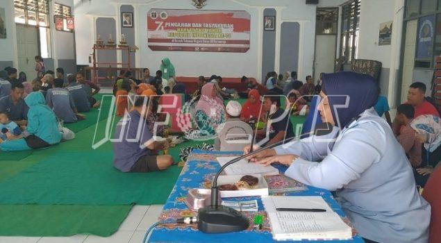 Masyarakat Nikmati Kunjungan 17 Agustus di Rutan Purworejo