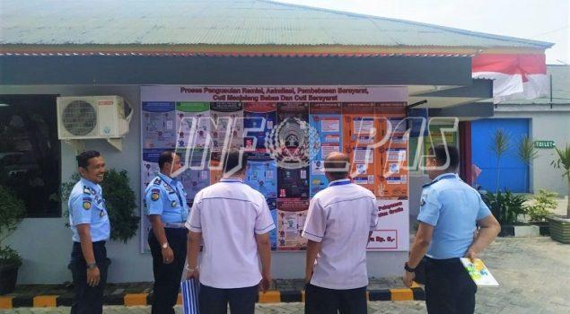 Tim Survey BPS Riau Pantau Pelaksanaan RB di Lapas Pekanbaru