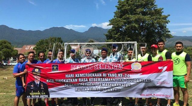 Pekan Olahraga Rutan Jantho Bina Kepribadian Narapidana