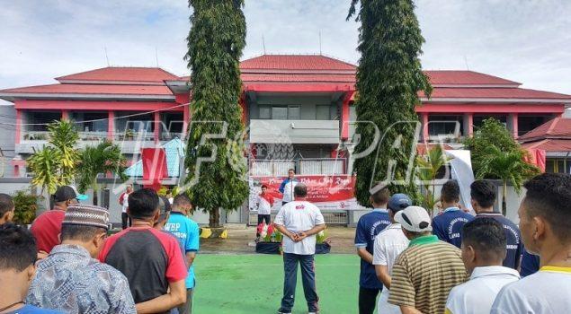 Pekan Olahraga Semarakkan HUT ke-74 RI di Lapas Ambon