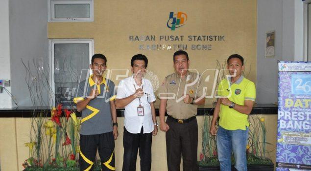 Lapas Watampone Lakukan Audiensi ke BPS Kabupaten Bone