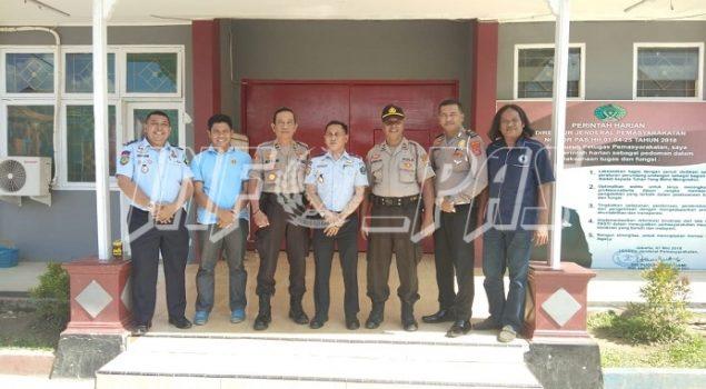 Rutan Unaaha Jajaki PKS Pengamanan Dengan Polres Konawe