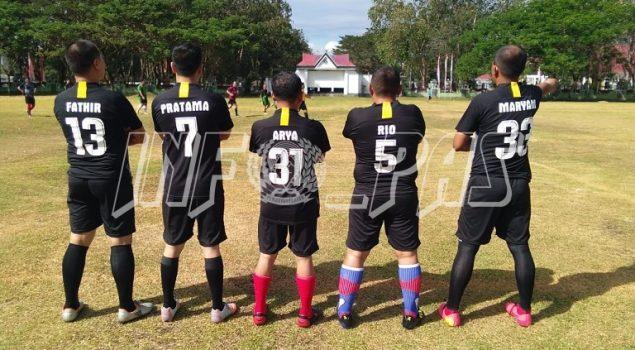 Lomba Sepakbola se-Kab. Konawe, Rutan Unaaha Turunkan Pemain Terbaik