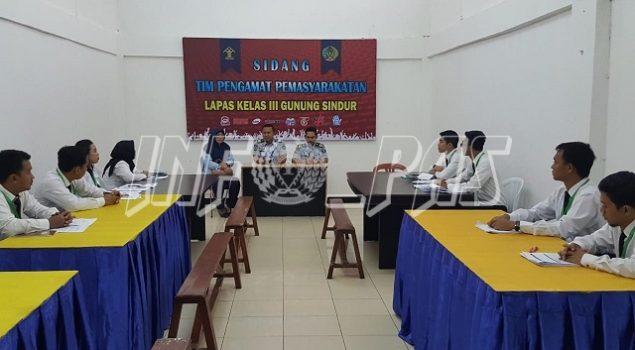 PK Bapas Praktik Pelaksanaan Litmas di Lapas Gunung Sindur