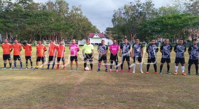 Tim Sepakbola Rutan Unaaha Bekuk Tim Kejari Konawe 3-0