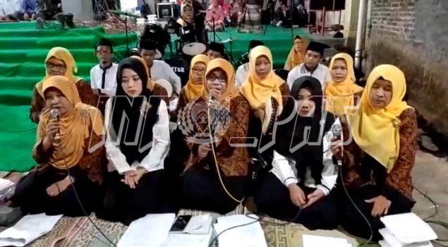 Grup Hadroh Rutan Purworejo Meriahkan Pengajian Akbar Ponpes Kedungsari