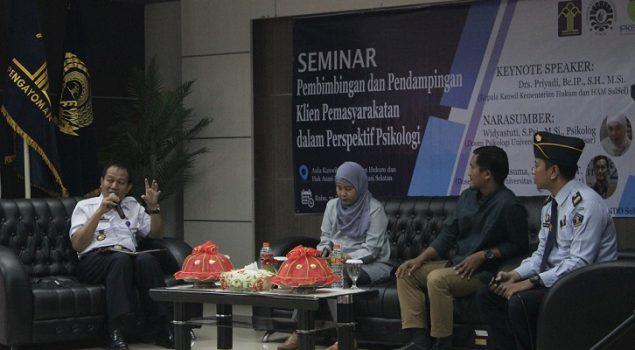Counseling Skills, Tajuk Utama Seminar Pembimbingan & Pendampingan Klien PAS dalam Perspektif Psikologi