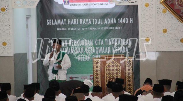 Galeri: Peringatan Iduladha 1440 Hijriah Jajaran Pemasyarakatan