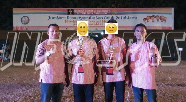 Anak LPKA Ambon Juara I Peserta Terbaik & Harapan I JAMPAS 2019