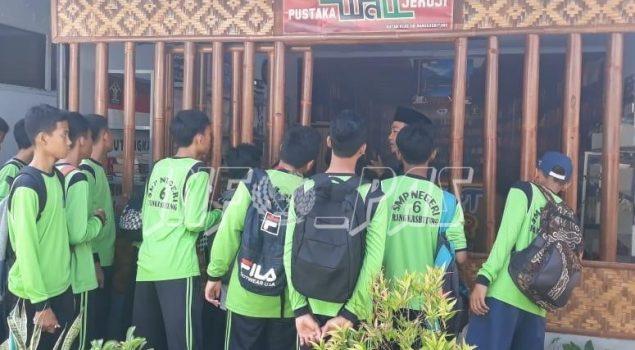 Ratusan Siswa SMP Wisata Hukum ke Rutan Rangkasbitung